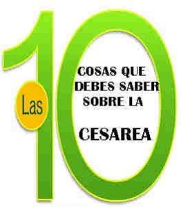 TOP 10 DE CESAREA VS PARTO VAGINAL